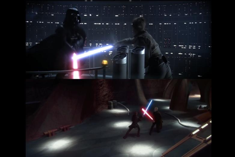 Star Wars Prequels vs Originals Scenes