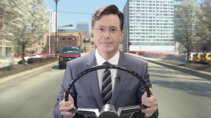 Stephen Colbert Waze Voice