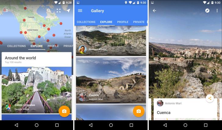 Google Maps Street View Standalone App