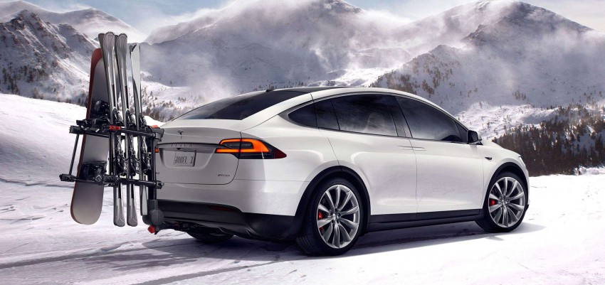 Tesla Model X Bioweapon Defense Mode Test