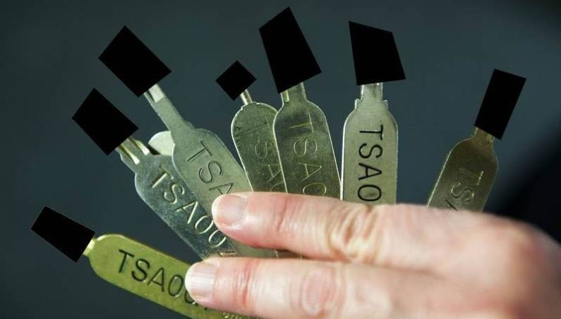 TSA Luggage Lock Master Keys