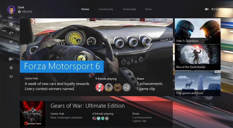 New Xbox One Experience Preview Video