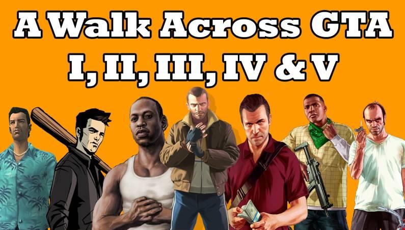 How Long Would it Take to Walk Across GTA V