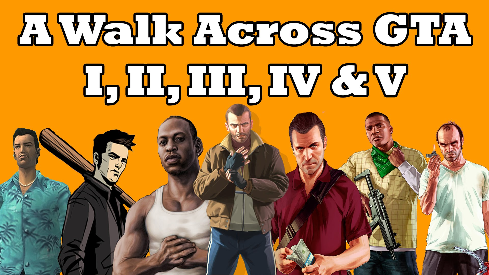 How Long Would it Take to Walk Across GTA V