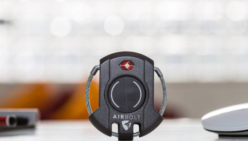 AirBolt Smart Luggage Lock iPhone Android