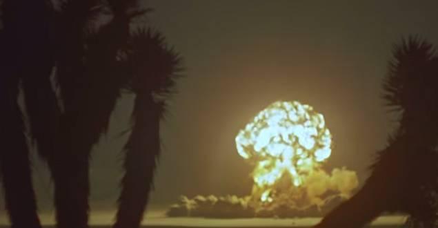 1955 Atomic Bomb Testing HD Video