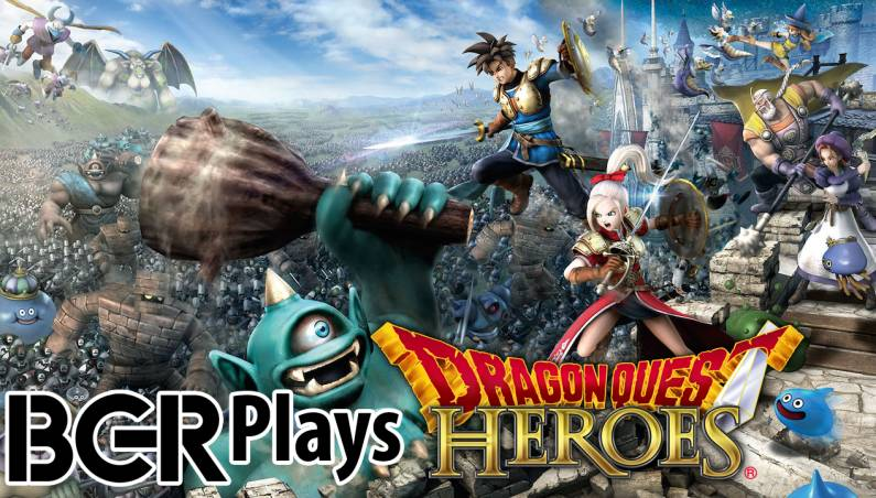 Dragon Quest Heroes PS4 Gameplay