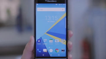 BlackBerry Priv Hands On Video