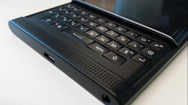 blackberry priv slider