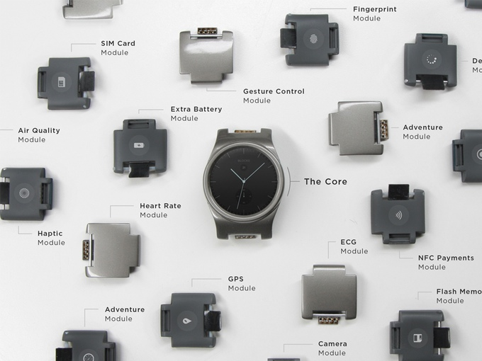 Blocks Modular Smartwatch iPhone Android