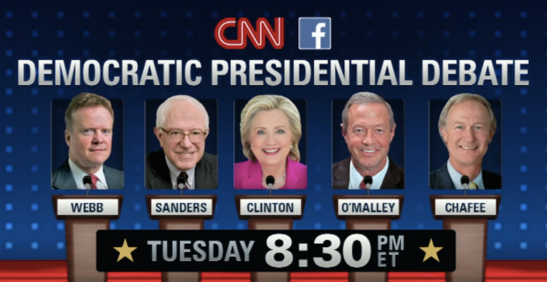 CNN Democratic Debate 2015 Live Stream