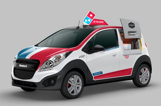Dominos Pizza Delivery Car