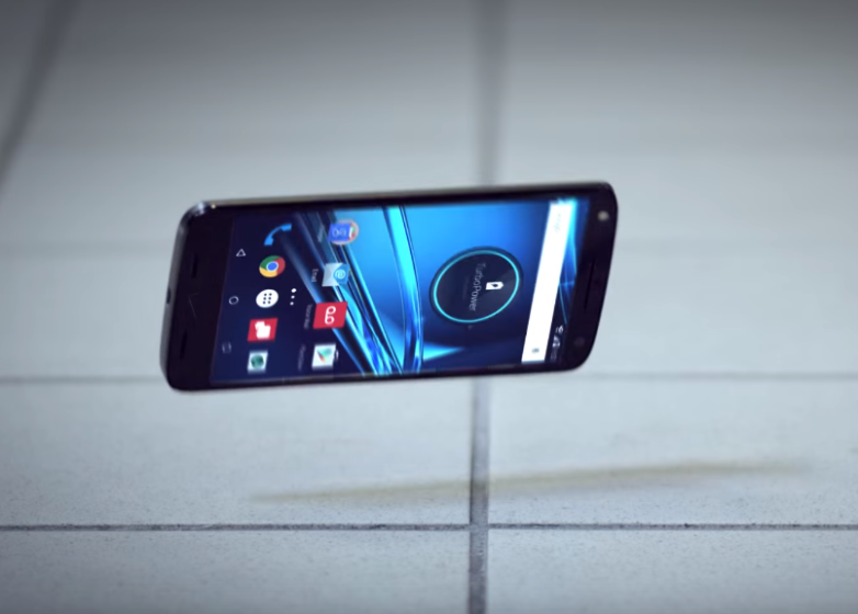 Motorola Droid Turbo 2 Shatterproof Display