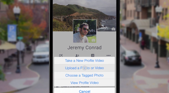 Facebook Profile Video GIF