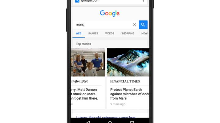Google Accelerated Mobile Pages Project