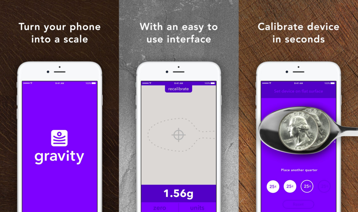 iPhone 6s 3D Touch Digital Scale Apps