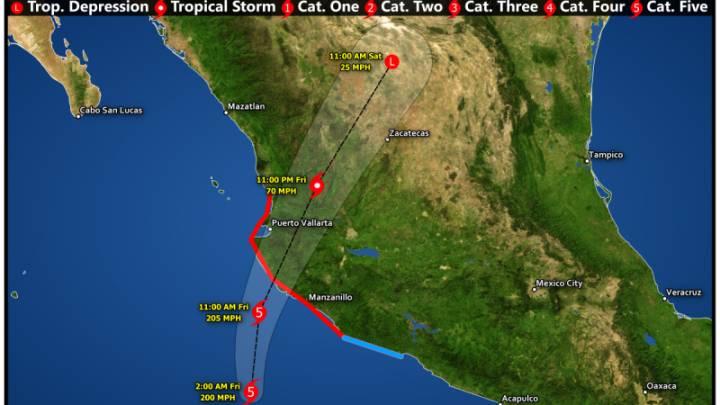 Hurricane Patricia Tropical Cyclone Wind Speed