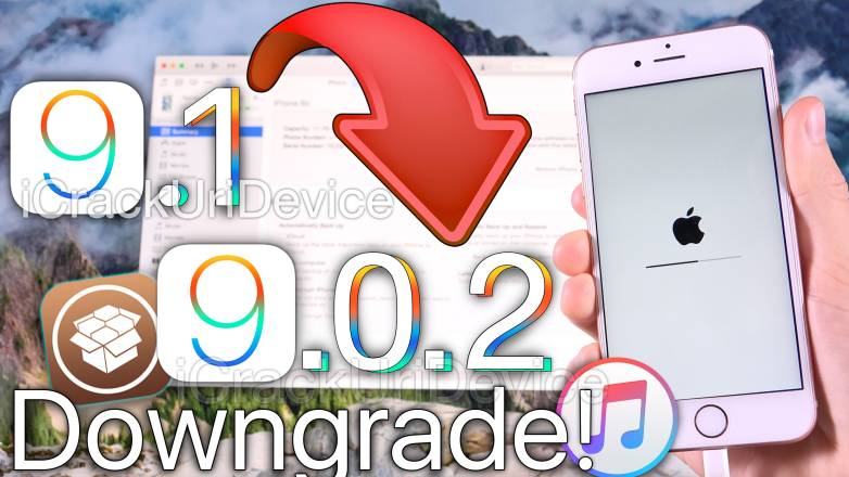 iOS 9.1 Downgrade Jailbreak