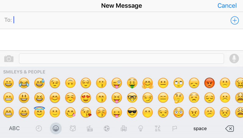 iOS 9 All New Emojis