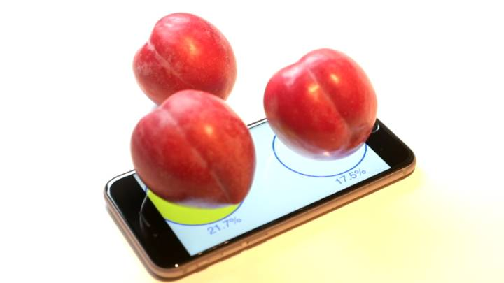 iPhone 6s 3D Touch Weighing App