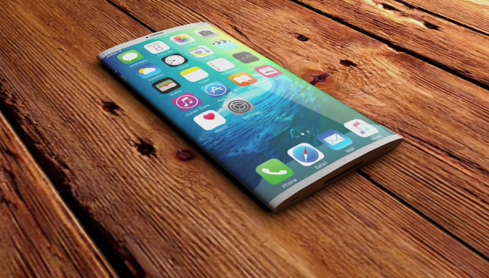 iPhone Liquidmetal Curved Screen Design