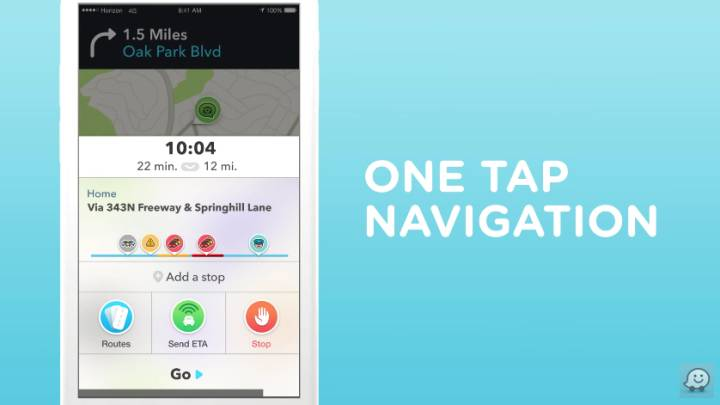 Waze 4.0 iPhone Update Features