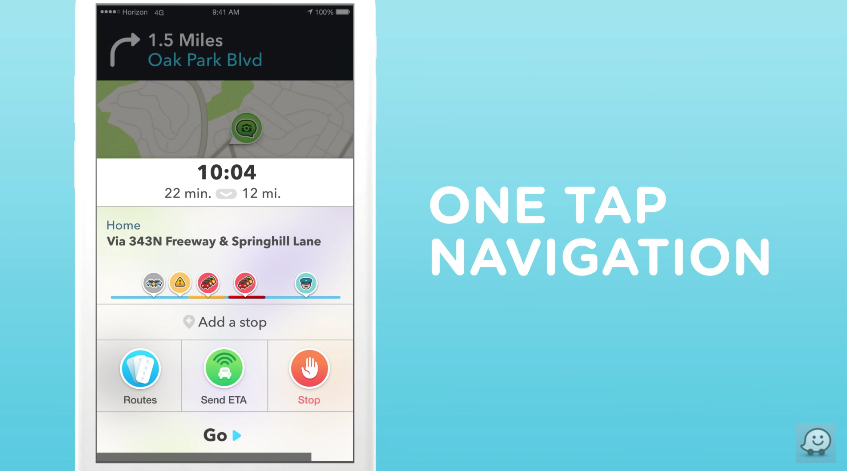 Waze 4.0 iPhone Update Features