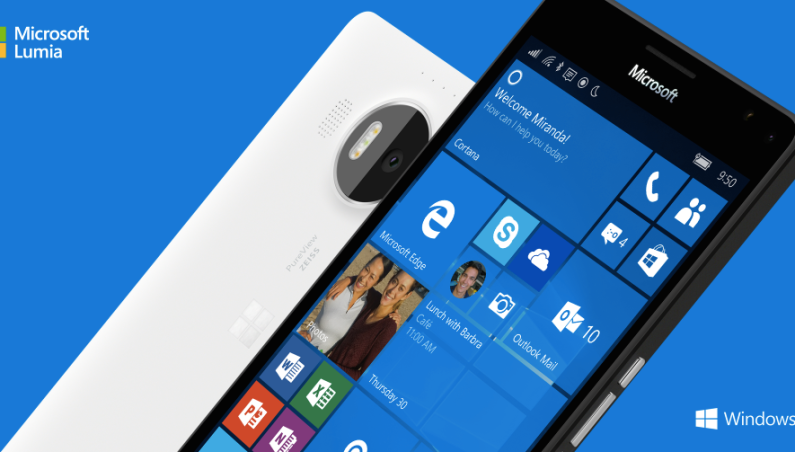 Microsoft Lumia 950 Lumia 950 XL Announced