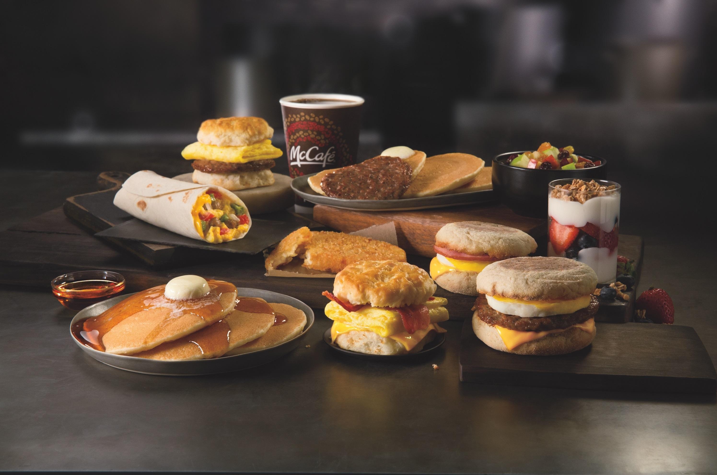 McDonald's All Day Breakfast Menu Details