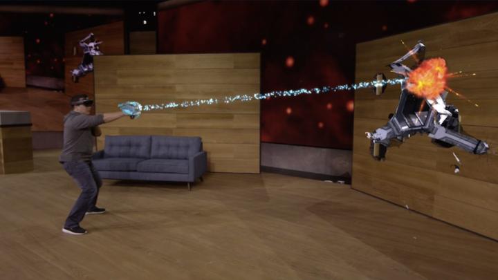 ISS Astronauts Microsoft HoloLens