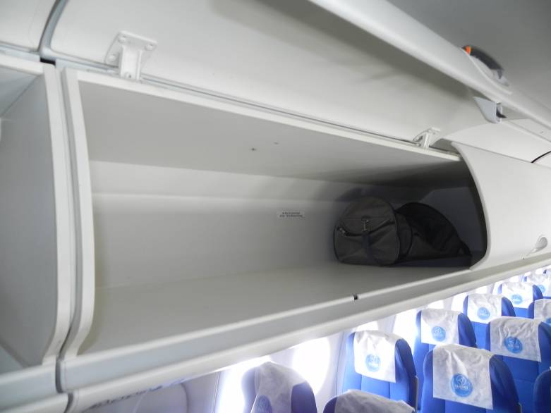 Boeing Overhead Bins 50% More Bags