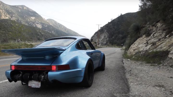 Man Steals Crashes Porsche Video