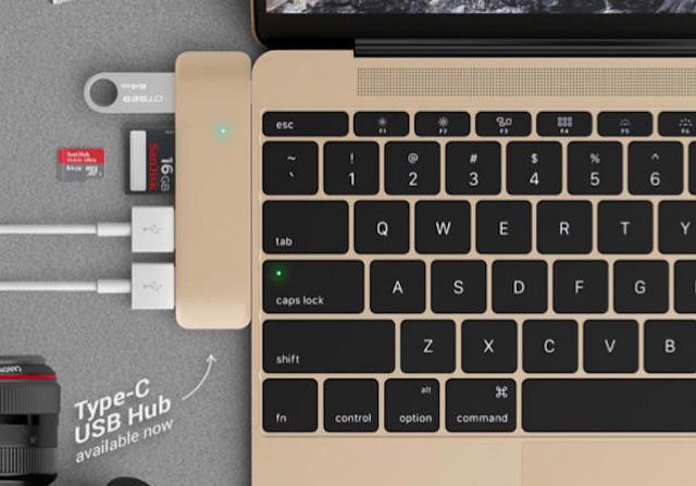 Retina MacBook USB-C Dock Ports