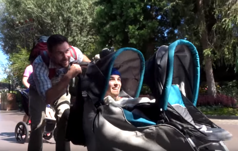 How To Sneak Into Disneyland Video