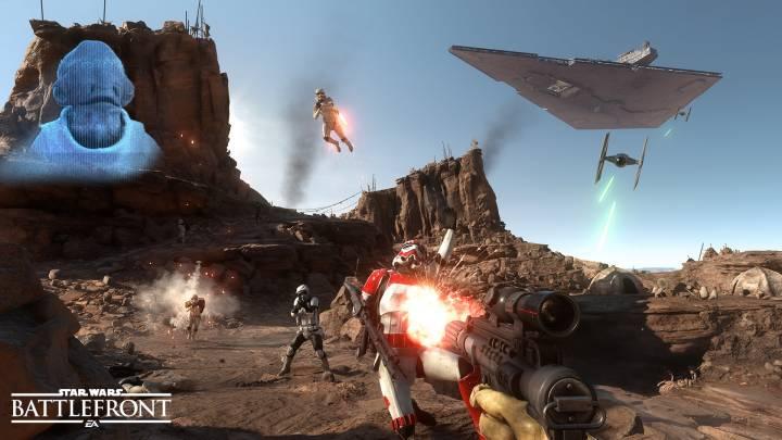 Star Wars Battlefront Beta Videos Impressions
