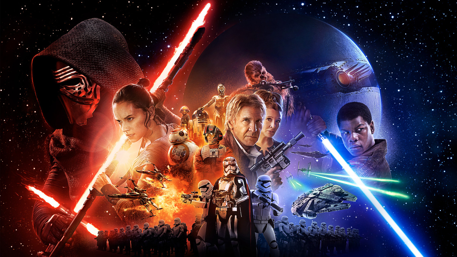 Star Wars The Force Awakens George Lucas