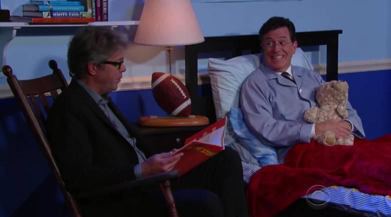 Colbert Jonathan Franzen Amazon Parody