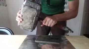 Thor's Hammer Mjolnir Replica Video