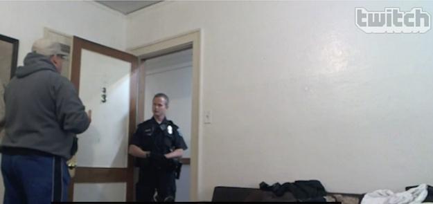 Twitch Livestream Arrest Robbery