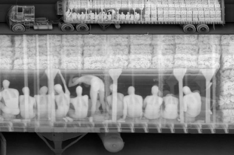 NYPD X-ray Spy Vans