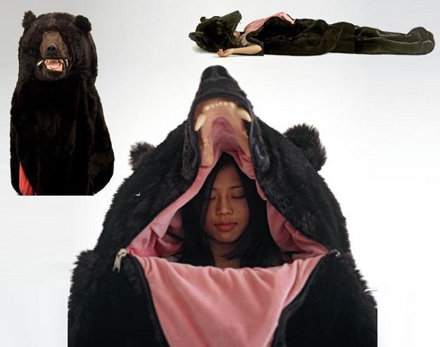 Realistic Bear Sleeping Bag