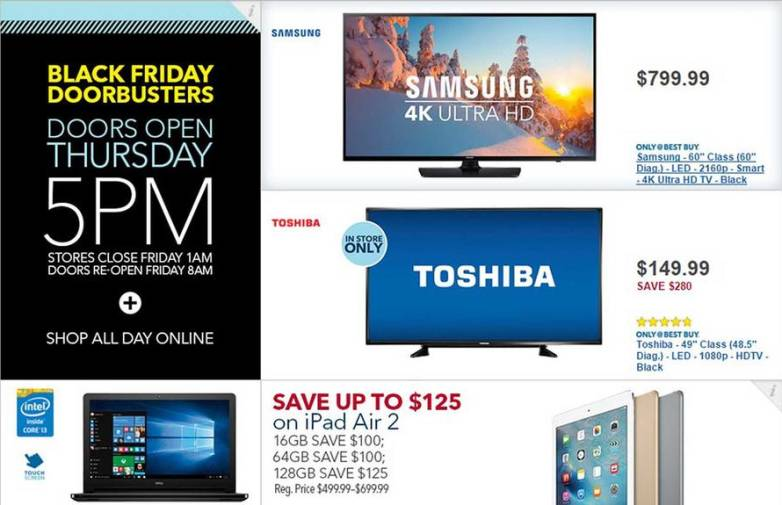 Best Buy Full Black Friday 2015 Ad Deals