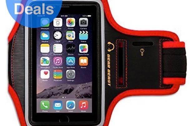 Smartphone running armband