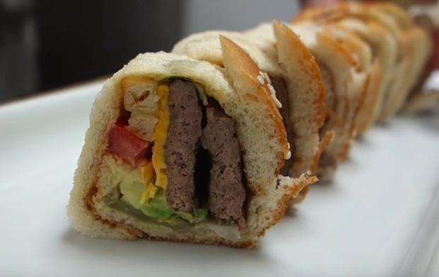 Big Mac Sushi Roll