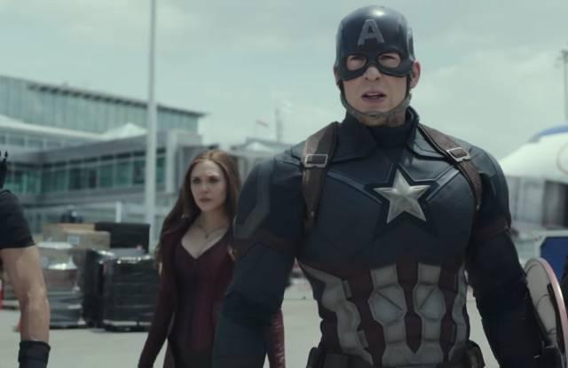 Captain America Civil War Trailer MTV