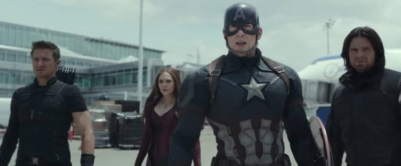 Captain America Civil War Trailer MTV