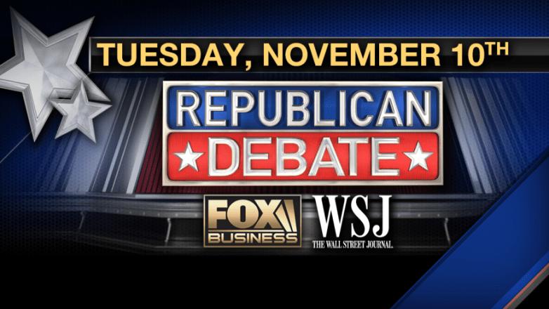 Fox Business Republican Debate Live Stream