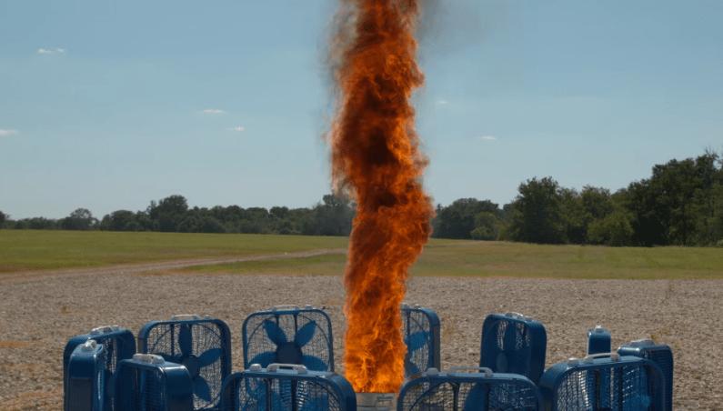 Slow Mo Guys Fire Tornado Video