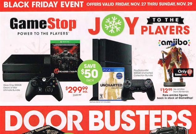 GameStop Black Friday 2015 Leaked Ad