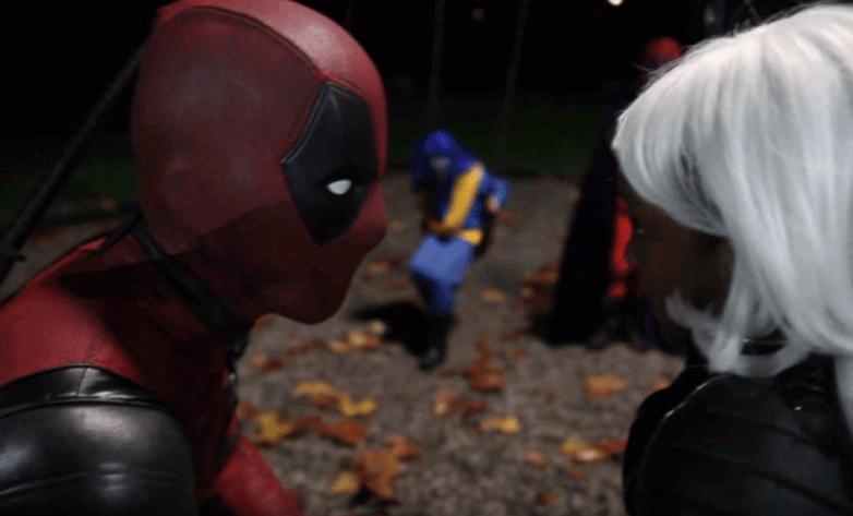 Ryan Reynolds What Deadpool Did On Halloween Video